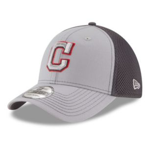 Adult New Era Cleveland Indians 39THIRTY Grayed Out Neo 2 Flex-Fit Cap
