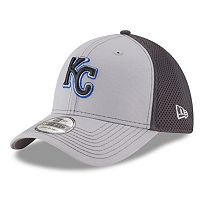 Adult New Era Kansas City Royals 39THIRTY Grayed Out Neo 2 Flex-Fit Cap