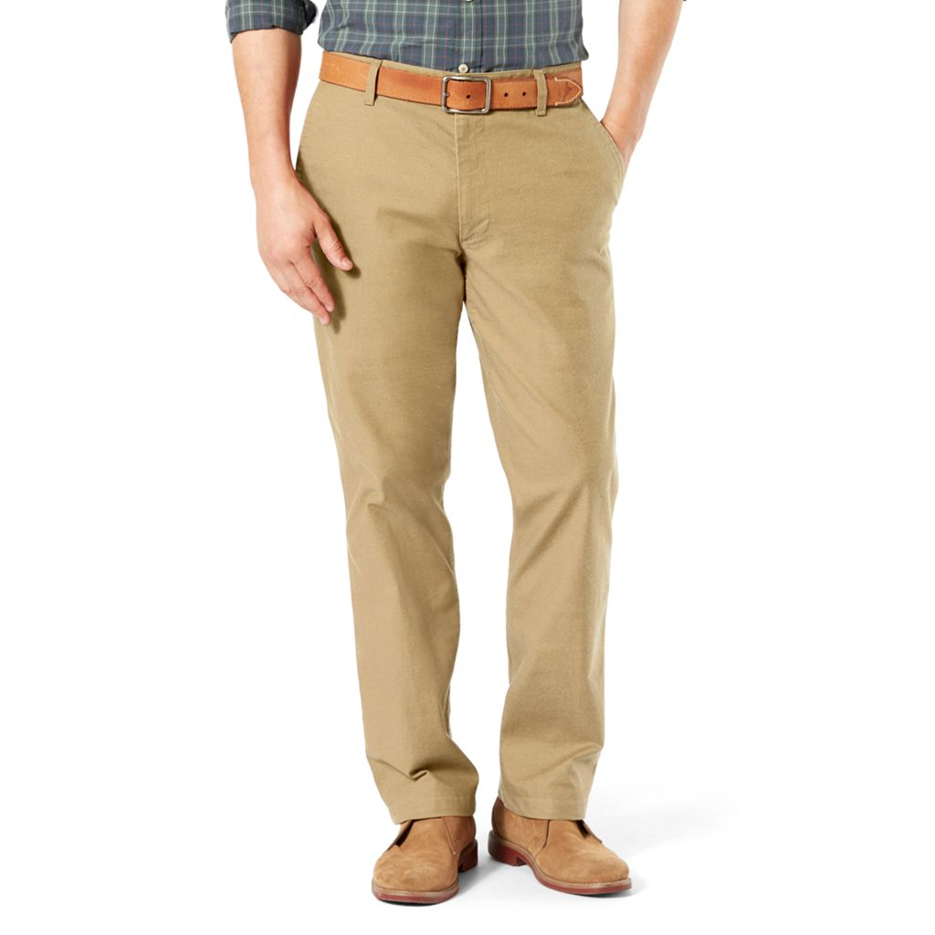 Men's Dockers Pacific Straight-Fit Washed Khaki Stretch Pants