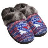 Women's Forever Collectibles New York Rangers Peak Slide Slippers