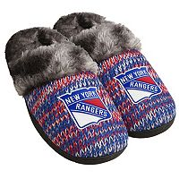 Women's Forever Collectibles New York Rangers Peak Slide Slippers