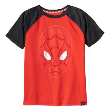 Boys 4-7x Marvel Hero Elite Series Spider-Man Collection for Kohl's 3D Metallic Tee
