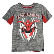 Boys 4-7x Marvel Hero Elite Series Spider-Man Collection for Kohl's Space-Dyed Glow-in-the-Dark Mesh Top