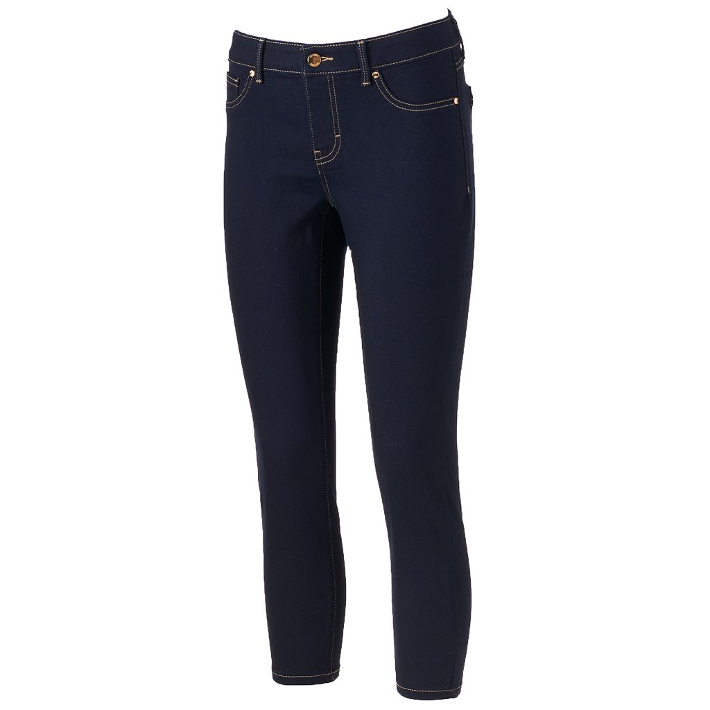 Women's Jennifer Lopez Cropped Super Skinny Jeans