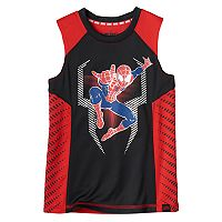 Boys 4-7x Marvel Hero Elite Series Spider-Man Collection for Kohl's Metallic Tank Top