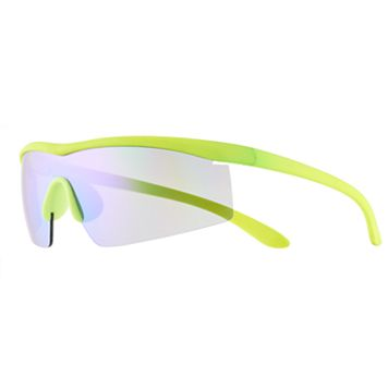 Men's Rubberized Sport Shield Sunglasses