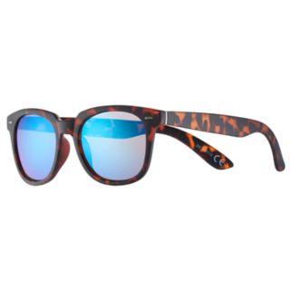 Men's Tortoise Shell Round Sunglasses