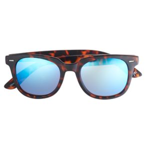 Men's Tortoise Shell Round Sunglasses