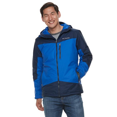 Men's Columbia Wister Slope Colorblock Thermal Coil ...