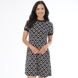 Women's AB Studio Print T-Shirt Dress