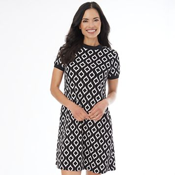 Women's AB Studio Print T-Shirt Dress