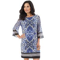 Women's AB Studio Paisley Shift Dress