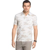 Big & Tall Van Heusen Classic-Fit Leaf Polo