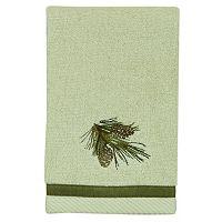 Bacova Pinecone Silhouette Fingertip Towel