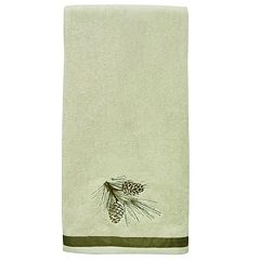 Bacova Pinecone Silhouette Bath Towel