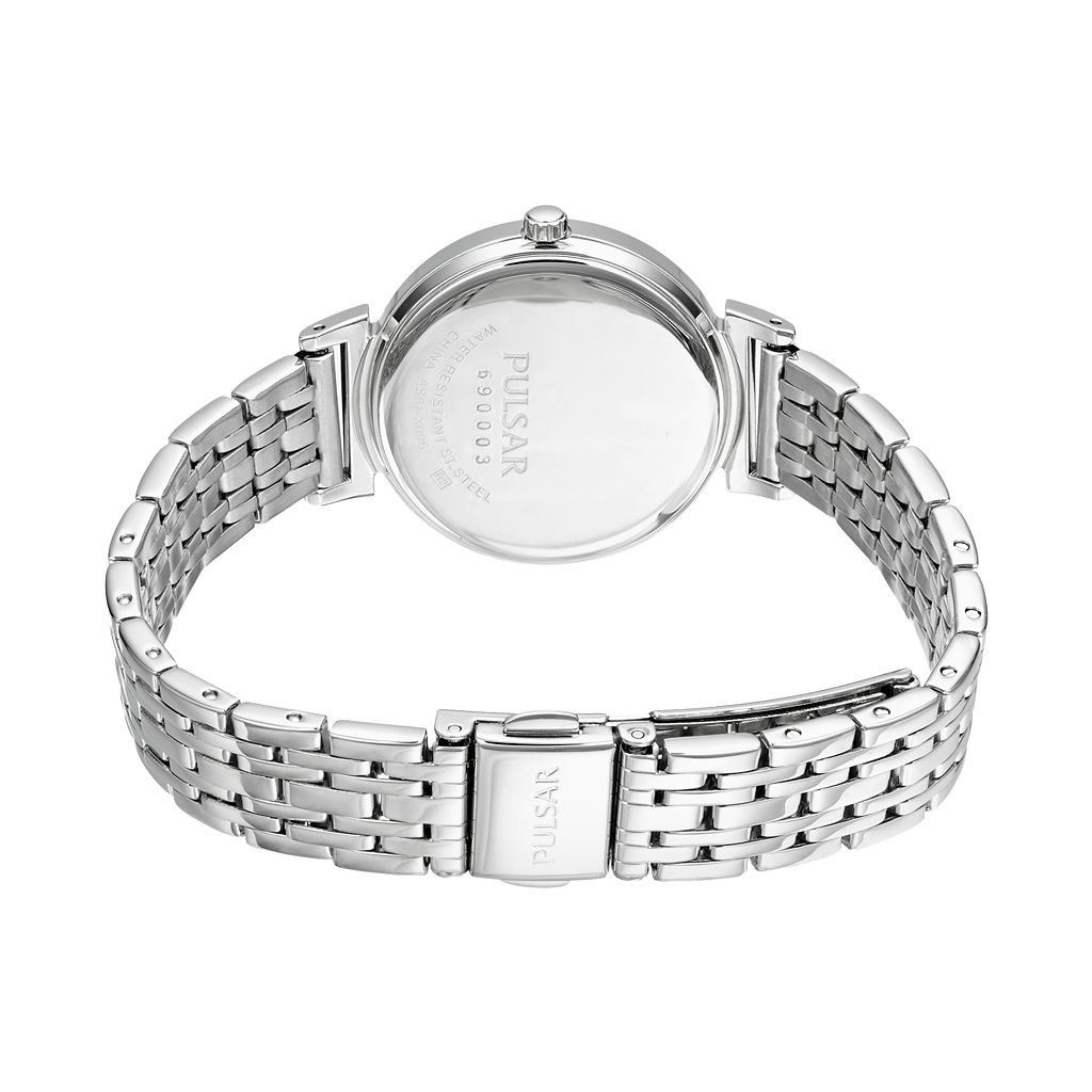 Pulsar Women's Solar Stainless Steel Watch - PY5027