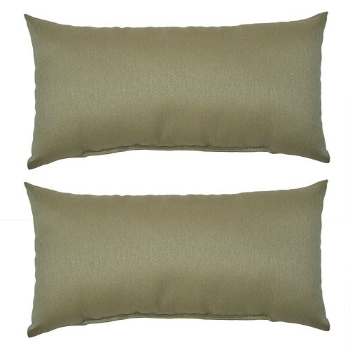 Plantation Patterns 2-pack Outdoor Lumbar Pillow