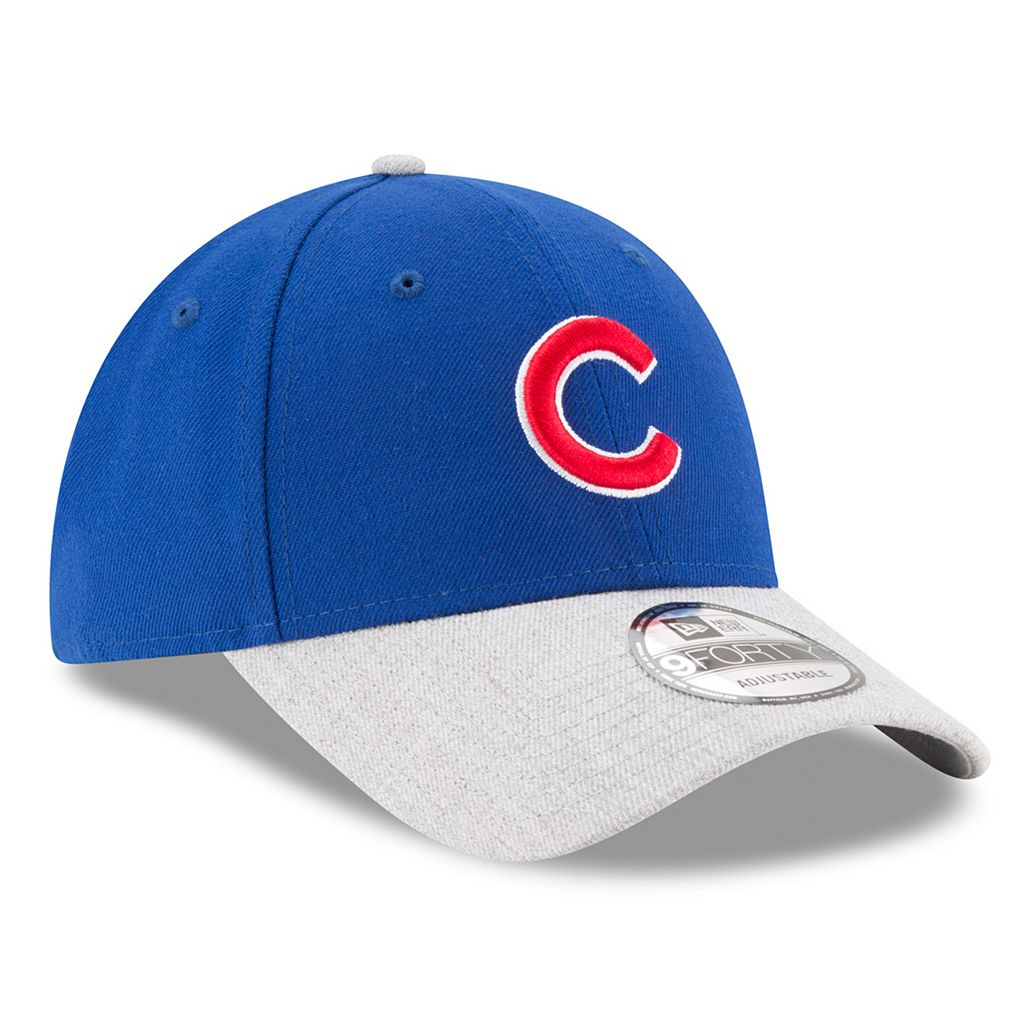 Adult New Era Chicago Cubs 9FORTY The League Heather 2 Adjustable Cap