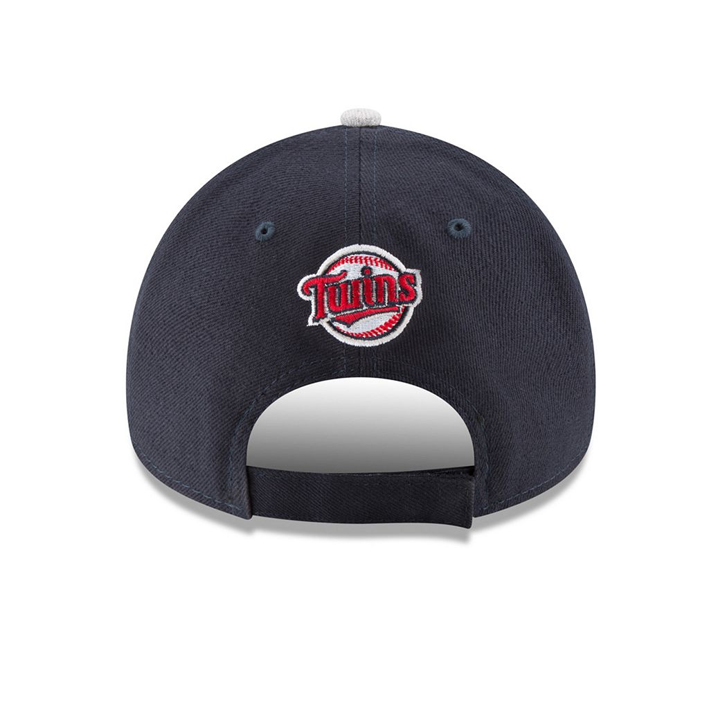 Adult New Era Minnesota Twins 9FORTY The League Heather 2 Adjustable Cap