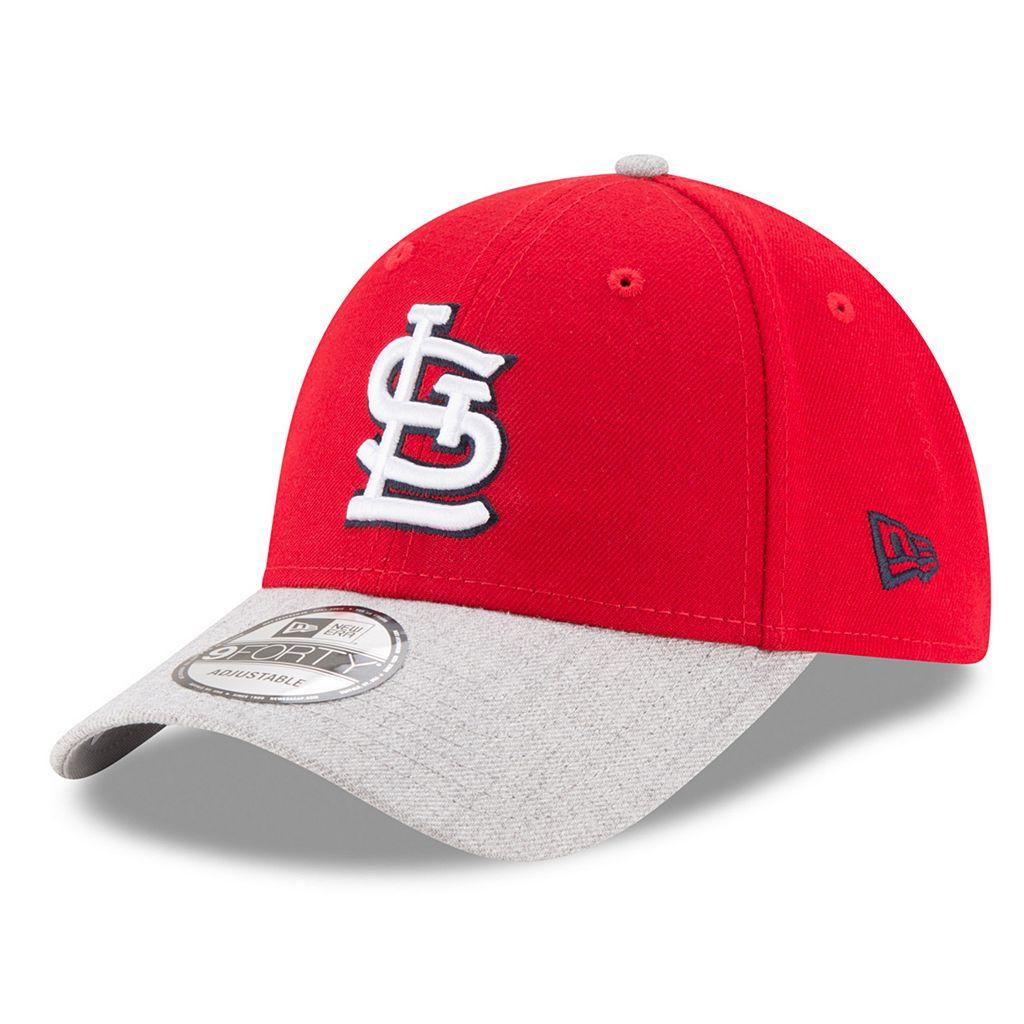 Adult New Era St. Louis Cardinals 9FORTY The League Heather 2 Adjustable Cap