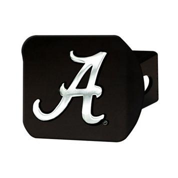 FANMATS Alabama Crimson Tide Black Trailer Hitch Cover