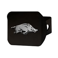 FANMATS Arkansas Razorbacks Black Trailer Hitch Cover