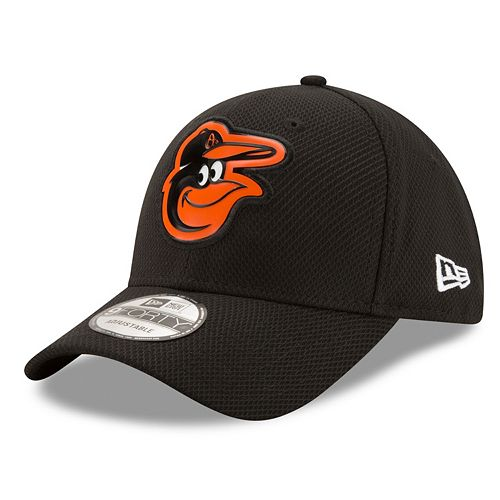 Adult New Era Baltimore Orioles 9FORTY Bevel Logo Adjustable Cap