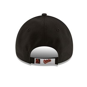 Adult New Era Baltimore Orioles 9FORTY Bevel Logo Adjustable Cap