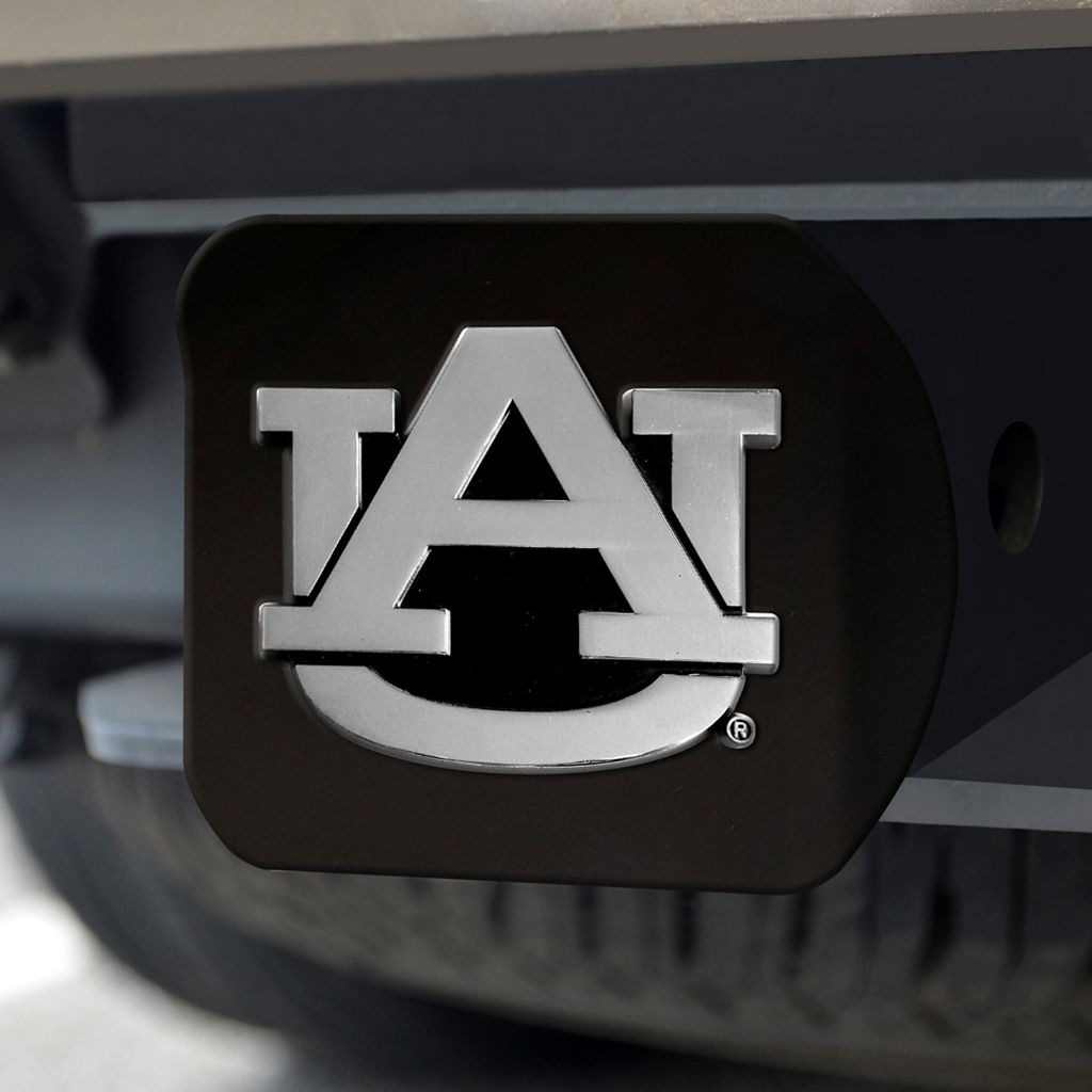 FANMATS Auburn Tigers Black Trailer Hitch Cover