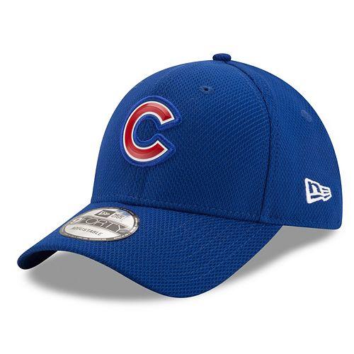 Adult New Era Chicago Cubs 9FORTY Bevel Logo Adjustable Cap