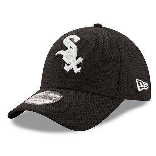 Adult New Era Chicago White Sox 9FORTY Bevel Logo Adjustable Cap