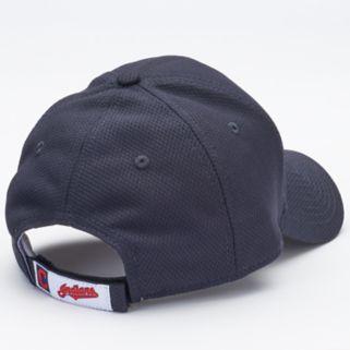 Adult New Era Cleveland Indians 9FORTY Bevel Logo Adjustable Cap