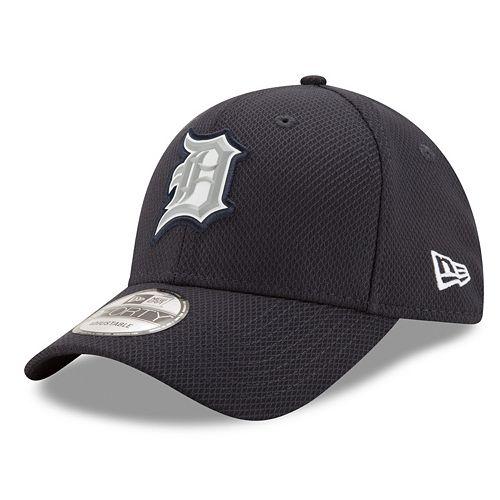 Adult New Era Detroit Tigers 9FORTY Bevel Logo Adjustable Cap