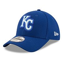 Adult New Era Kansas City Royals 9FORTY Bevel Logo Adjustable Cap