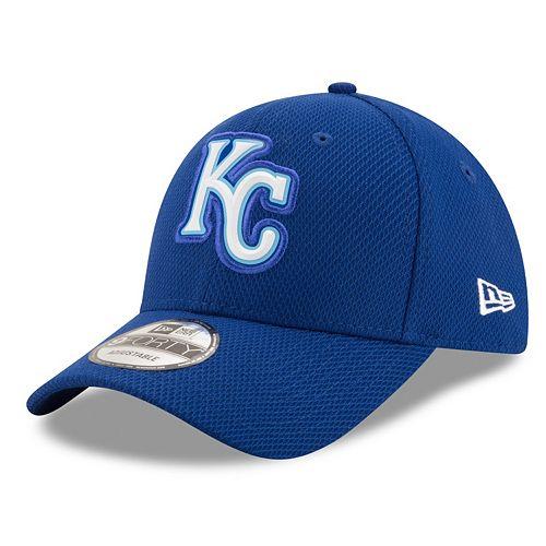Adult New Era Kansas City Royals 9FORTY Bevel Logo Adjustable Cap