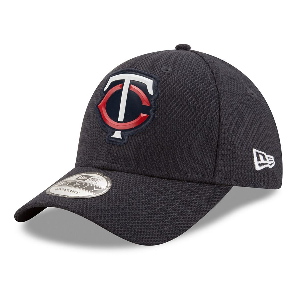 Adult New Era Minnesota Twins 9FORTY Bevel Logo Adjustable Cap