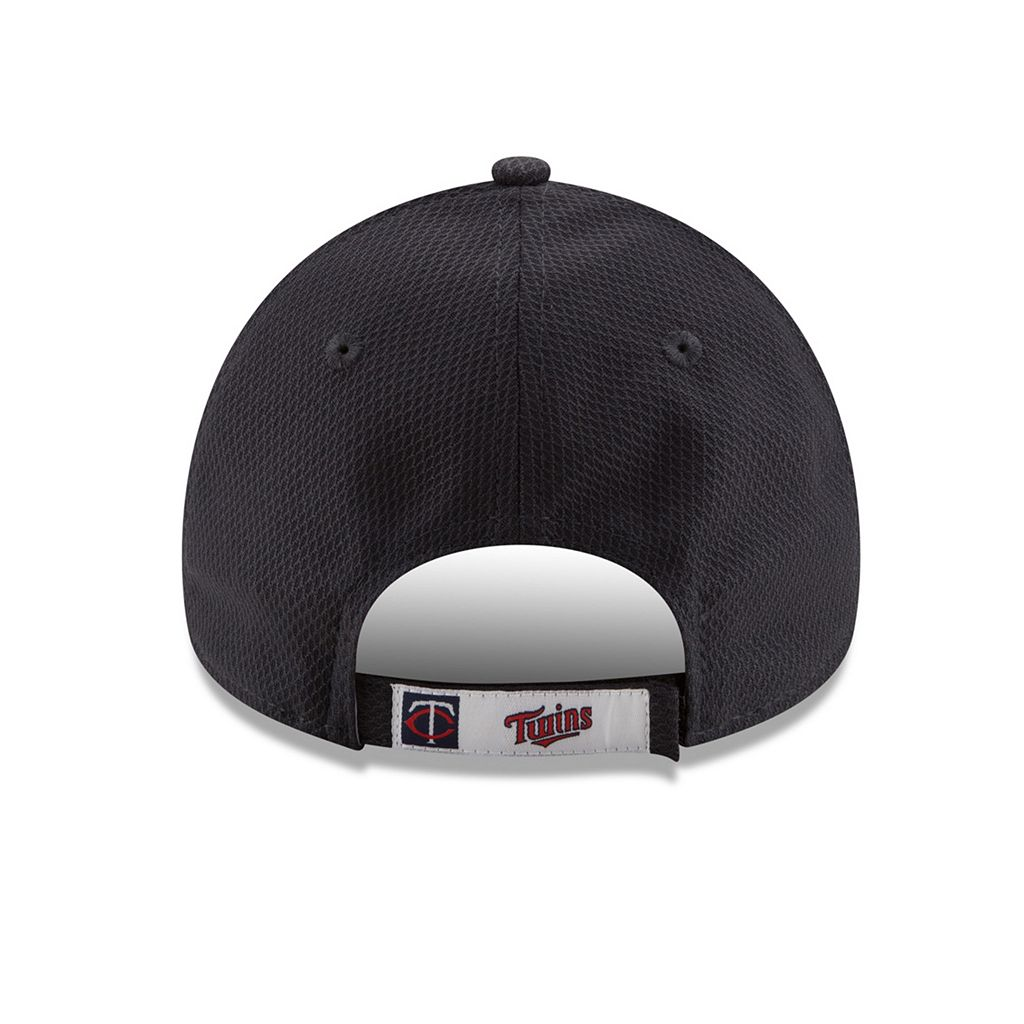 Adult New Era Minnesota Twins 9FORTY Bevel Logo Adjustable Cap