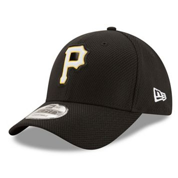 Adult New Era Pittsburgh Pirates 9FORTY Bevel Logo Adjustable Cap