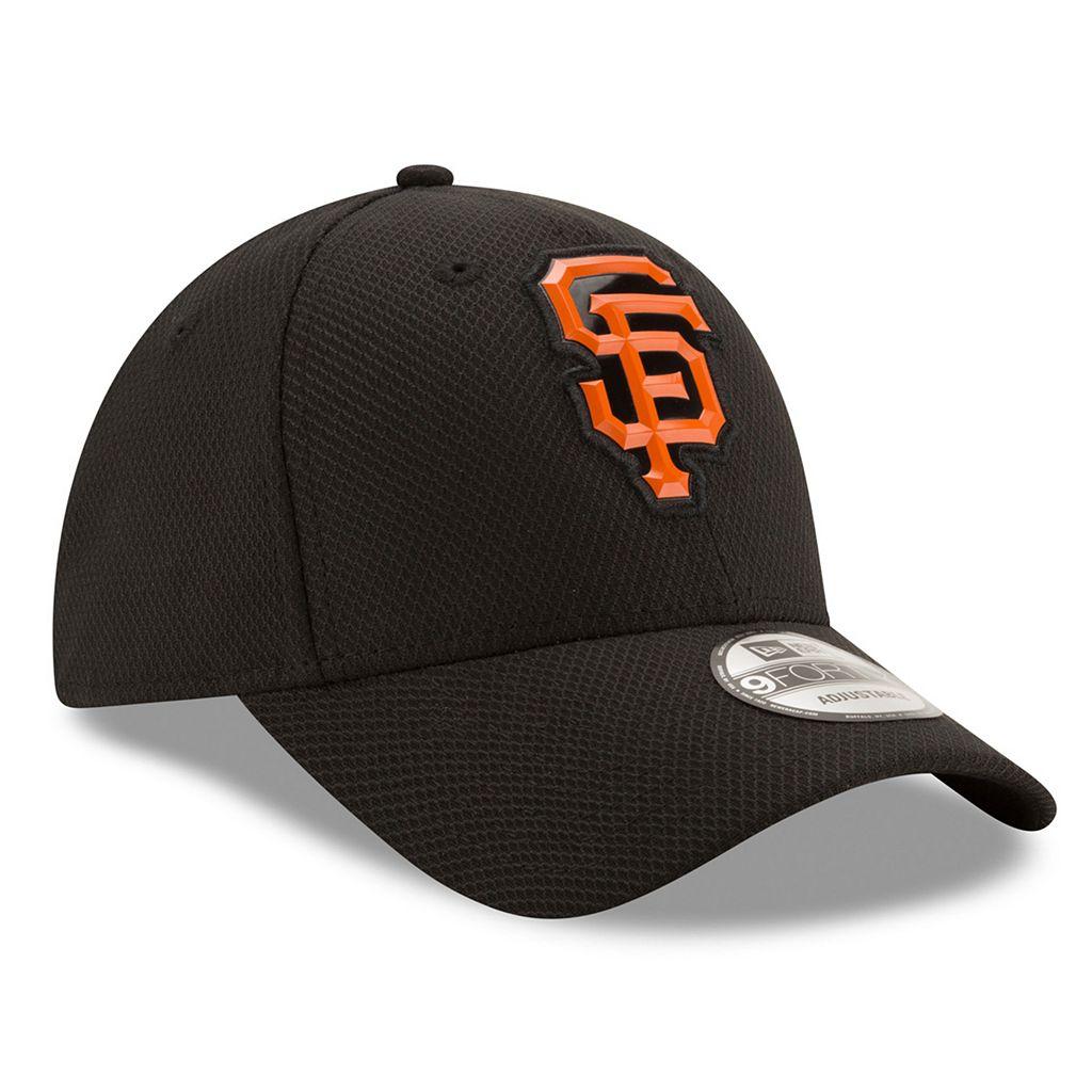 Adult New Era San Francisco Giants 9FORTY Bevel Logo Adjustable Cap
