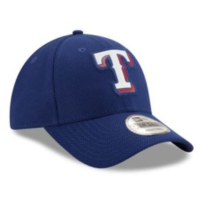 Adult New Era Texas Rangers 9FORTY Bevel Logo Adjustable Cap