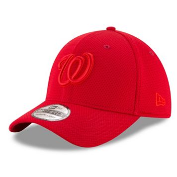 Adult New Era Washington Nationals 39THIRTY Tone Tech Redux Flex-Fit Cap