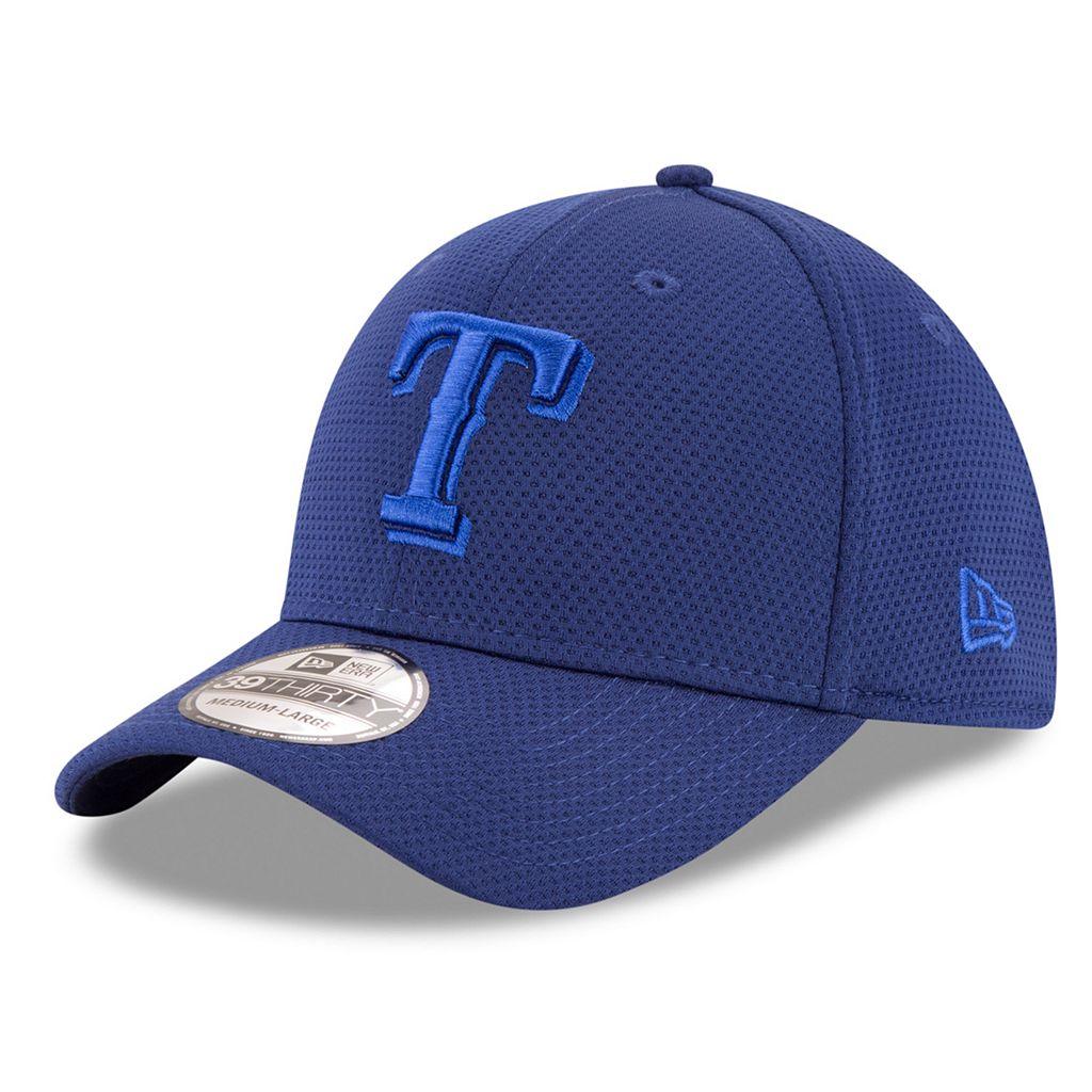 Adult New Era Texas Rangers 39THIRTY Tone Tech Redux Flex-Fit Cap