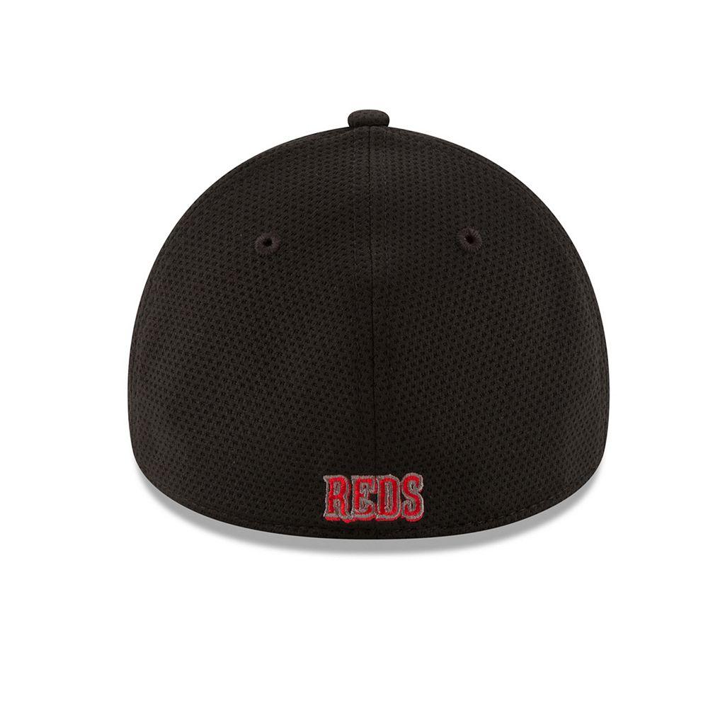 Adult New Era Cincinnati Reds 39THIRTY Tone Tech Redux Flex-Fit Cap