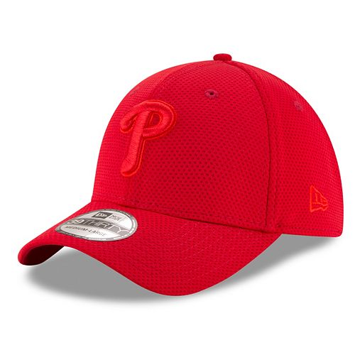 Adult New Era Philadelphia Phillies 39THIRTY Tone Tech Redux Flex-Fit Cap