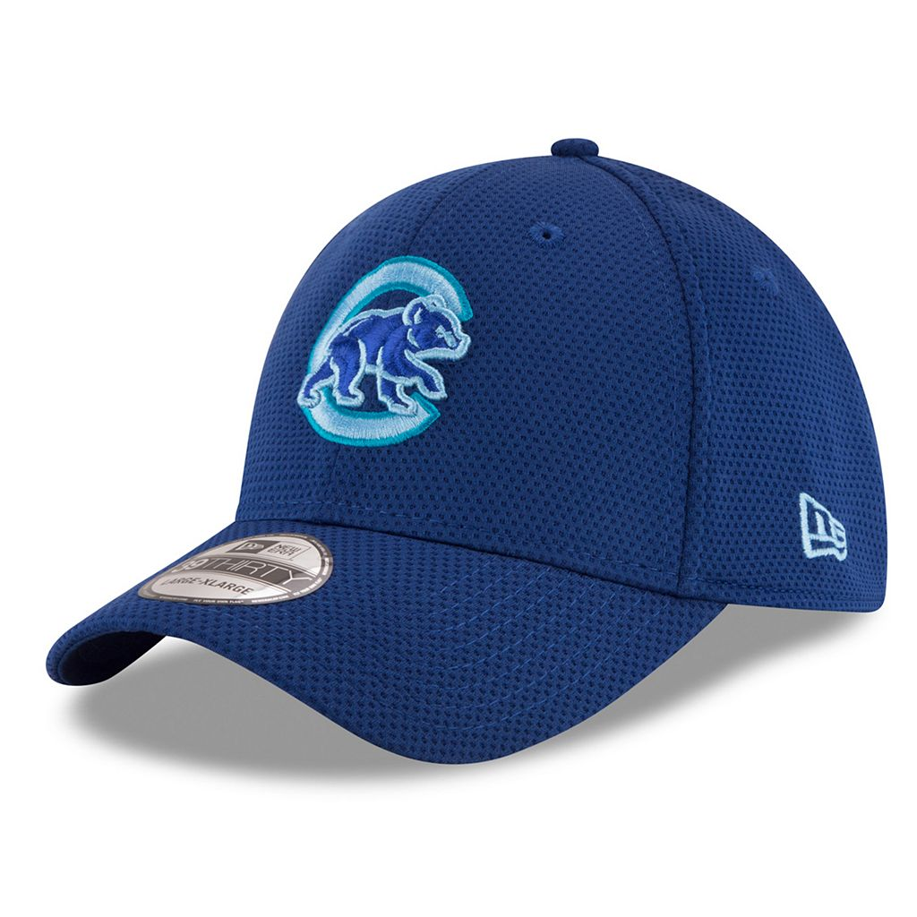 Adult New Era Chicago Cubs 39THIRTY Tone Tech Redux Flex-Fit Cap