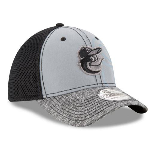 Adult New Era Baltimore Orioles 39THIRTY Shadow Reflect Flex-Fit Cap