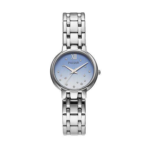 Pulsar Women's Crystal Stainless Steel Watch - PH8301