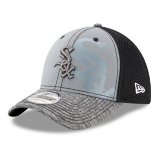 Adult New Era Chicago White Sox 39THIRTY Shadow Reflect Flex-Fit Cap