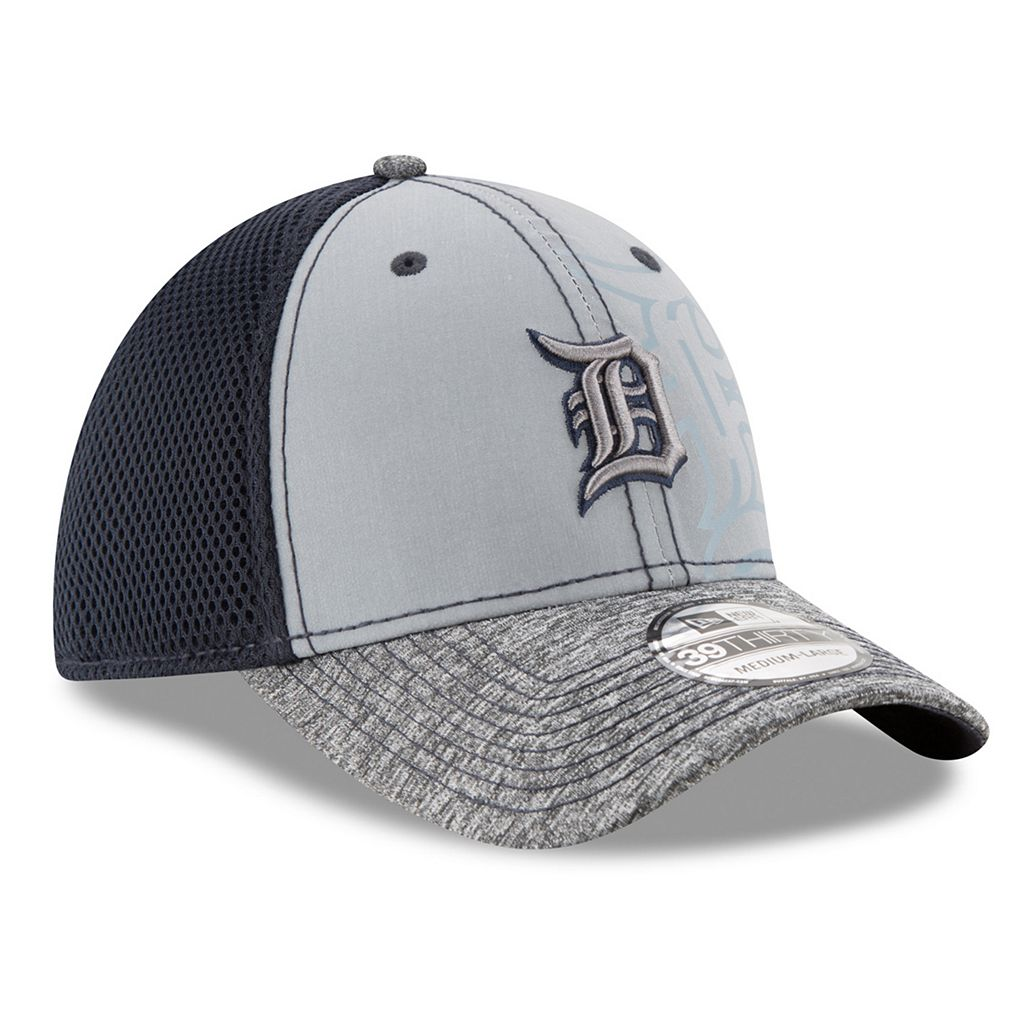 Adult New Era Detroit Tigers 39THIRTY Shadow Reflect Flex-Fit Cap