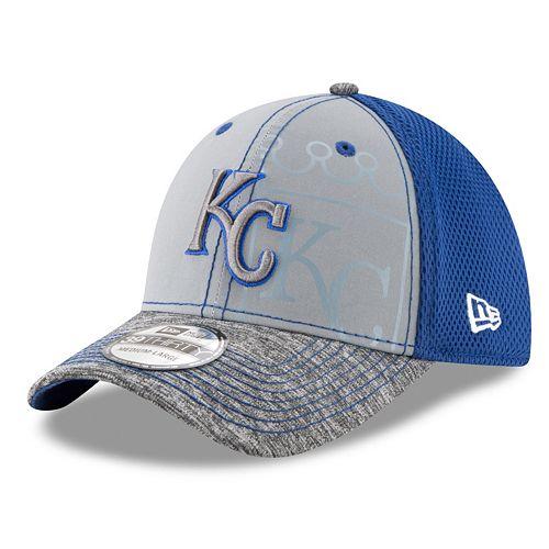 Adult New Era Kansas City Royals 39THIRTY Shadow Reflect Flex-Fit Cap